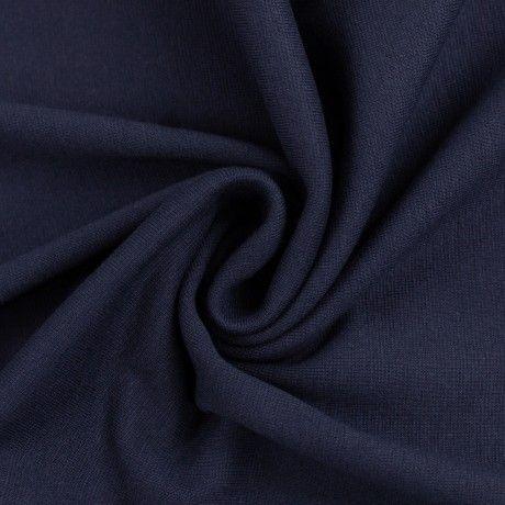 Bündchen glatt dunkelblau