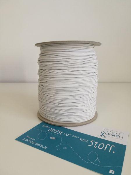 Elastikschnur 1,9 mm weiß