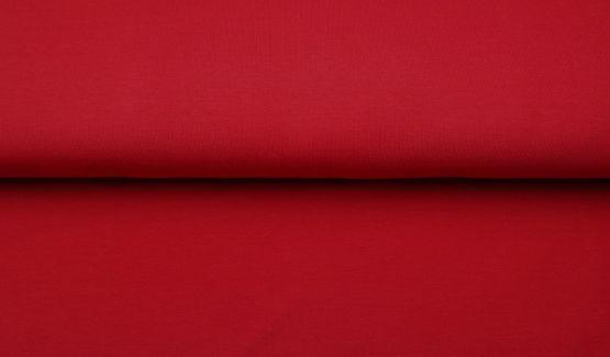 Bündchen glatt rot