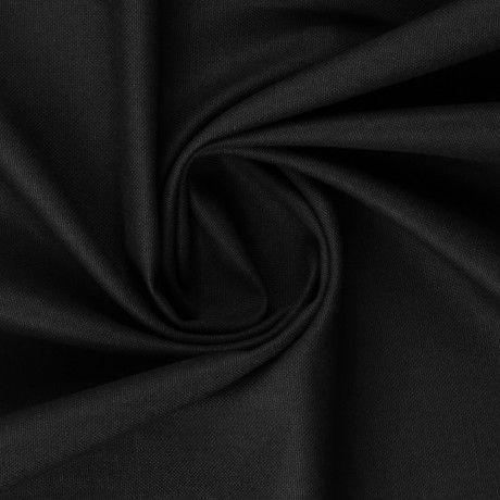 Canvas uni schwarz