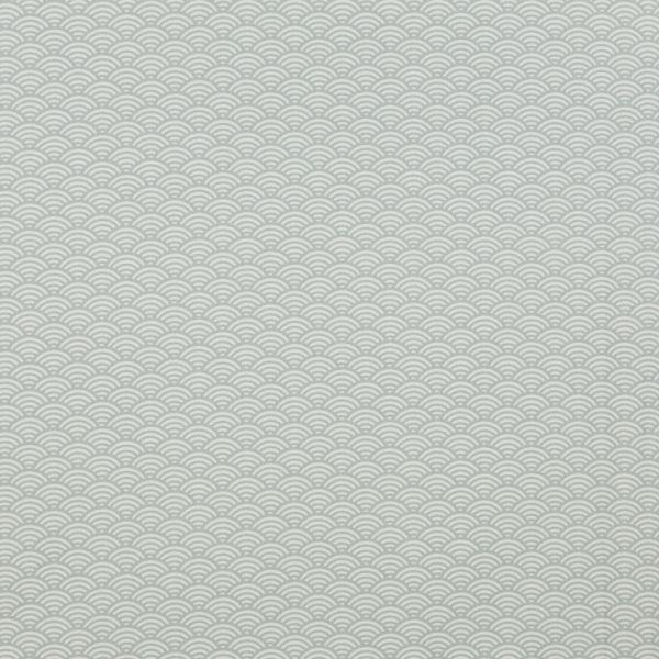 Luna Muscheldesign grau beschichtete Baumwolle