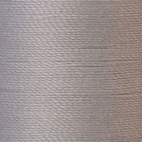 Polyester Garn hellgrau 125m extra stark
