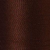 Polyester Garn kastanienbraun 125m extra stark