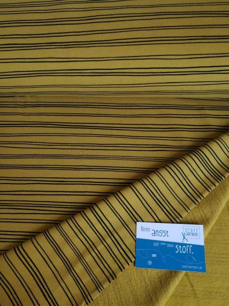 Stripes ocker Sweat organic