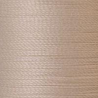 Polyester Garn beige 125m extra stark