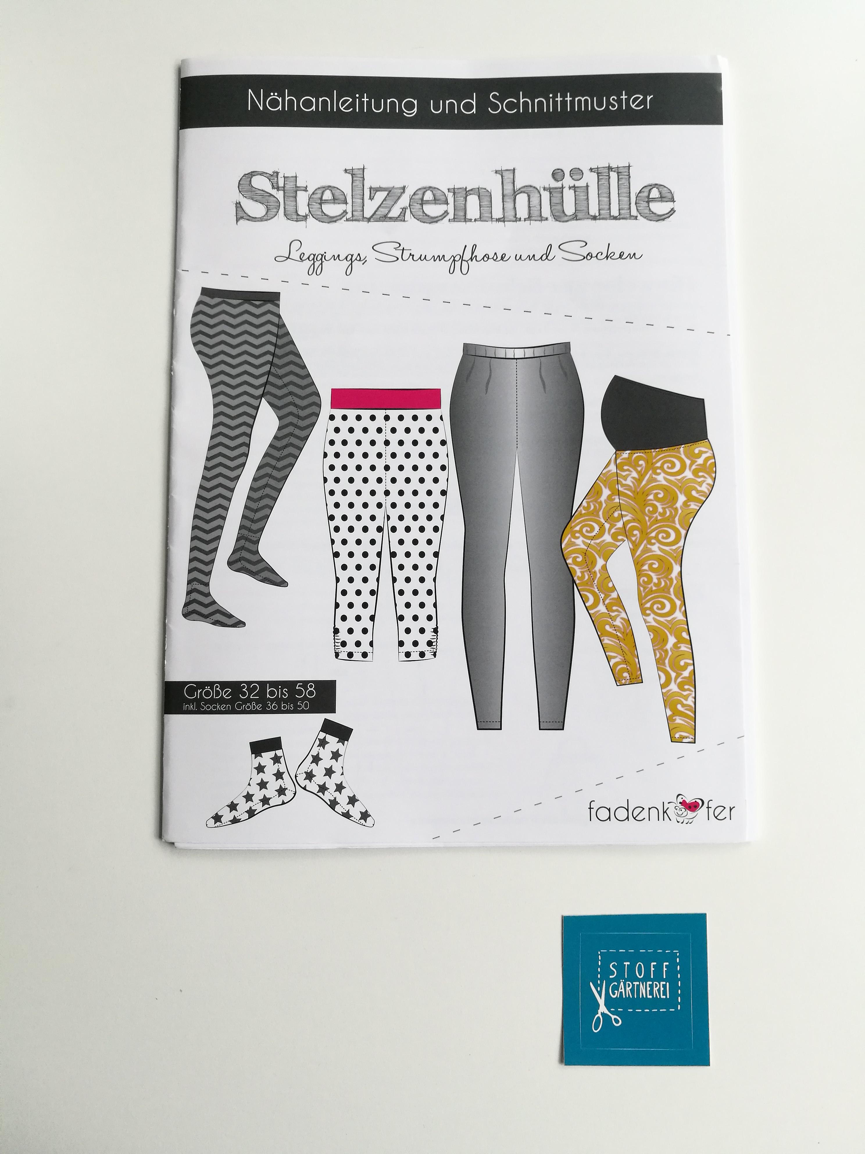 Leggings Stelzenhülle für Damen | Damen | Schnittmuster | Zubehör ...