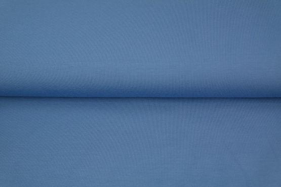 Bündchen glatt blau