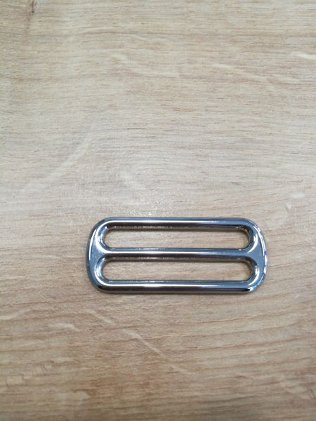 Schieber 40 mm silber