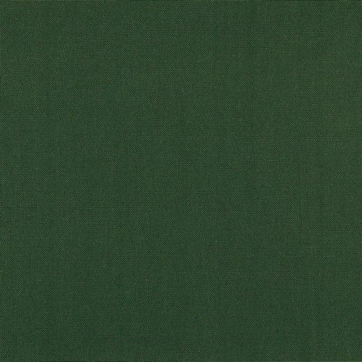 Canvas uni dunkelgrün